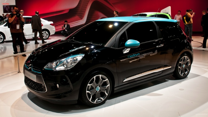 citroen ds3 electrum Citroens DS3 jumps on the EV bandwagon with the Electrum