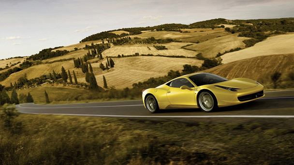 ferrari 458 italia yellow Getting your hands on a supercar just got that little bit easier