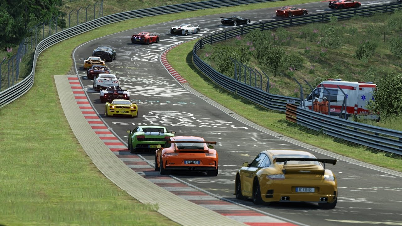 Assetto Corsa track day server - Porsche