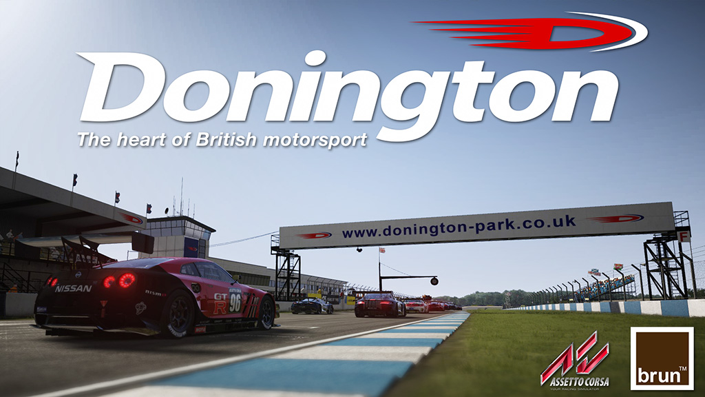 Donnington Park Assetto Corsa Track Mod packs sound cars tracks